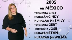 Explicamos el fenómeno de La Niña: impactos de ciclones en México