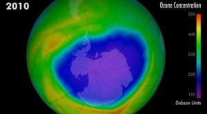 Así ha avanzado el agujero de la capa de ozono en los últimos años