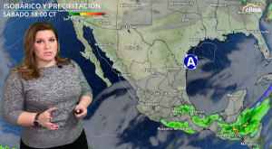 Chubascos en CDMX mientras México se prepara para próxima tormenta invernal