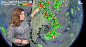 Frente frío desarrollará tormentas severas con granizo y vientos