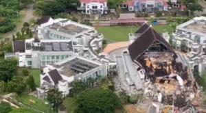Así ha quedado el paisaje tras el terremoto de Indonesia