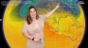 Semana de contrastes en México: Frío y nieve en el norte, calor en el centro