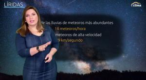 ¡Llegan las Líridas! Primera lluvia de estrellas de 2021