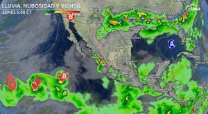 Tres sistemas tropicales al oeste de México: ¿Cómo evolucionarán?