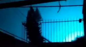Así se ha iluminado el cielo de México tras el potente terremoto